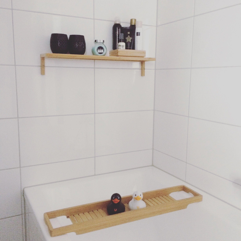 Badkamer badkamerinspiratie badkamerstyling Ikea badkamer ...