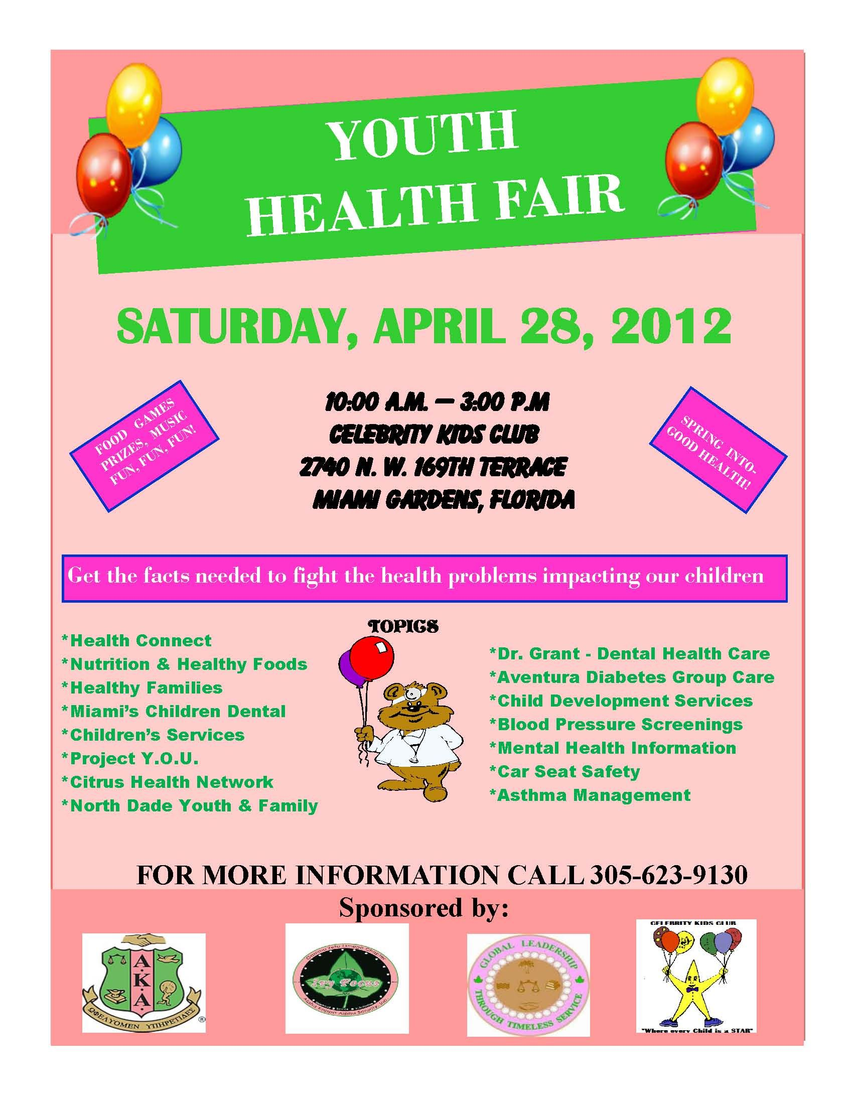 Join Celebrity Kids Club For A Youth Health Fair On April 28