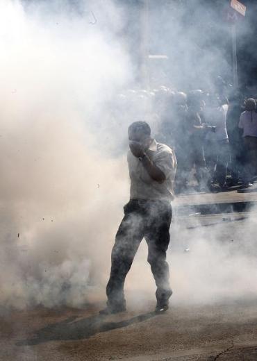 Ankara'da Gezi protestosuna sert müdahale