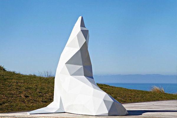 Ben Foster Geometric Animal Sculptures 8