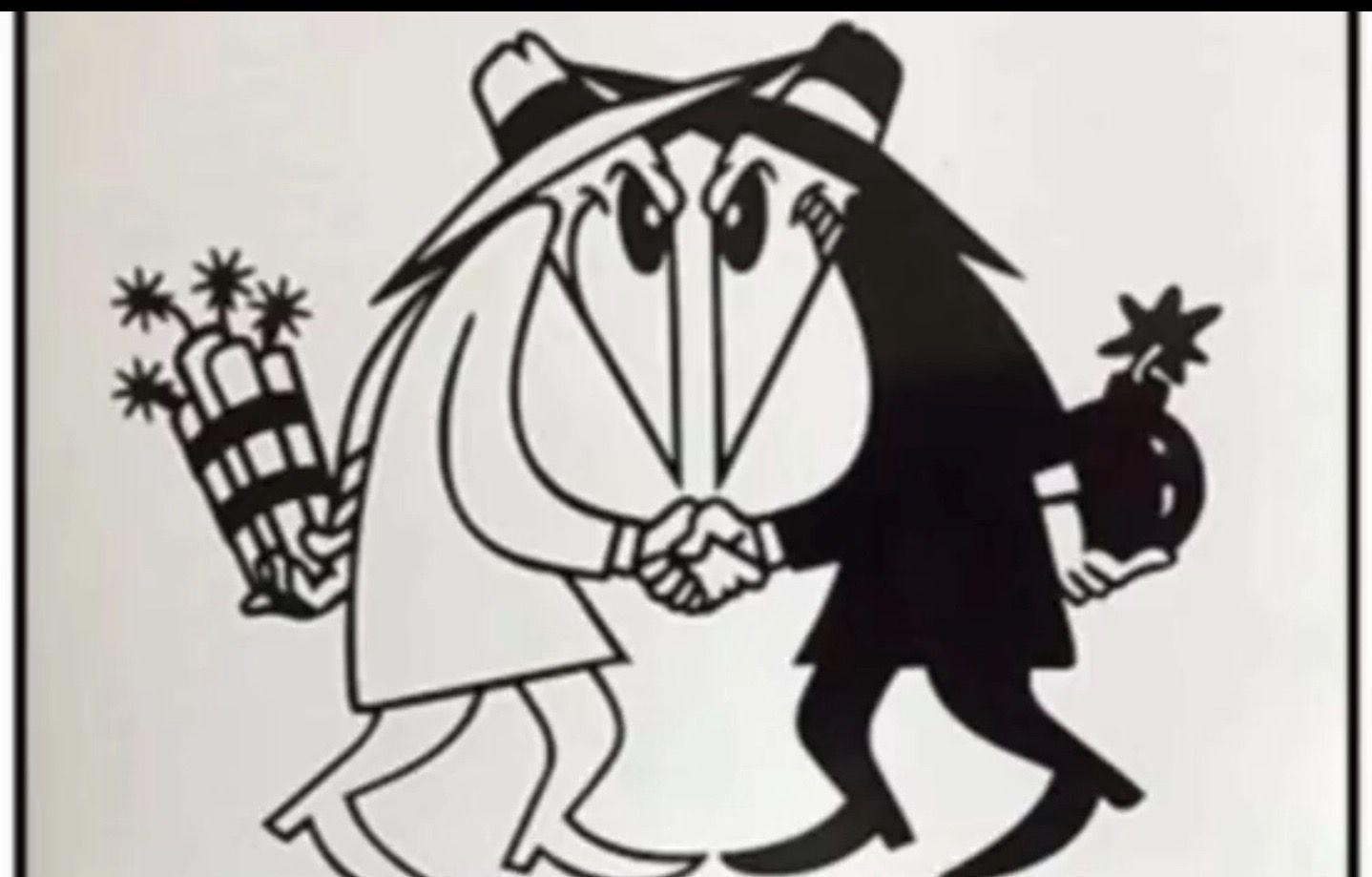 Spy Vs Spy Plantillas Graffiti Tatuajes De Dibujos Animados Dibujos