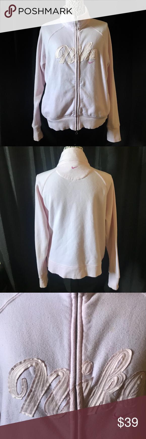 Nike Blush Millennial Pink Zip Up Sweatshirt Xl Nike Blush Millennial Pink Zip Up Sweatshirt Xl Has A Little Bit Of Stain On Pink Zip Ups Zip Ups Nike Women [ 1740 x 580 Pixel ]