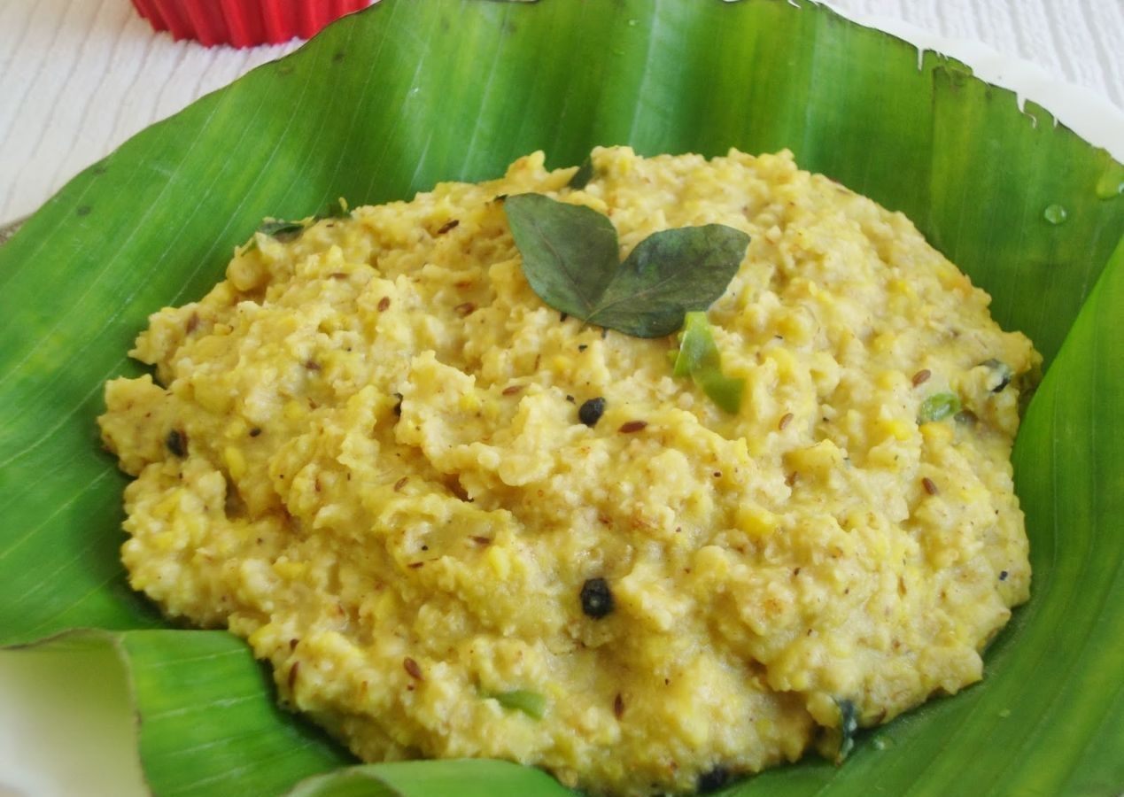 Oats ven pongal recipe low cholesterol indian style and easy forumfinder Choice Image