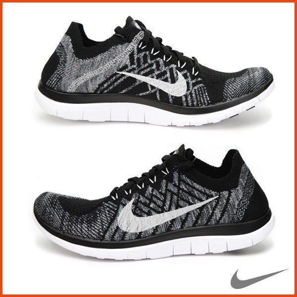 c4a62630dc3 ... closeout mens nike free 4.0 flyknit running trainers uk 7.5 eur 42 cm  26.5 717075 001 ...