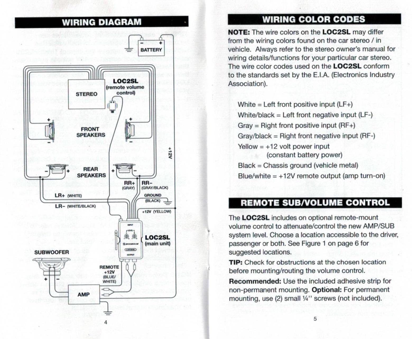 Scosche Loc2sl Wiring Diagram Best Of Line Out Converter Elvenlabs Instructions 0 Diagram Converter Wire