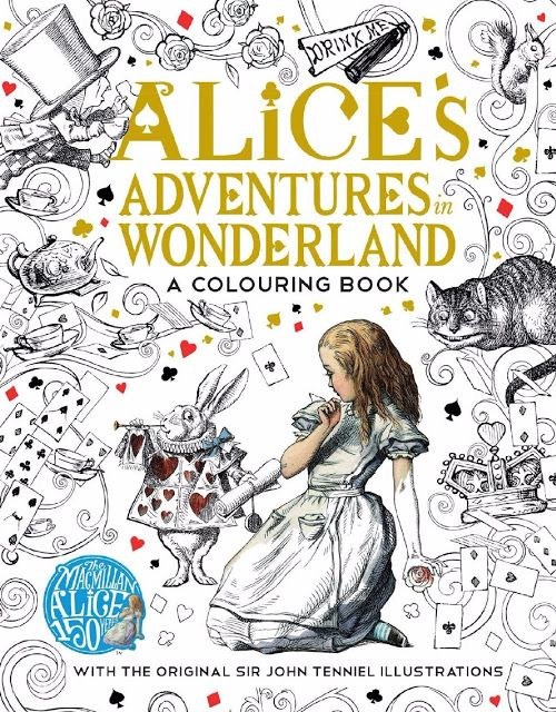 Alice S Adventures In Wonderland Get All Coloring Pages There