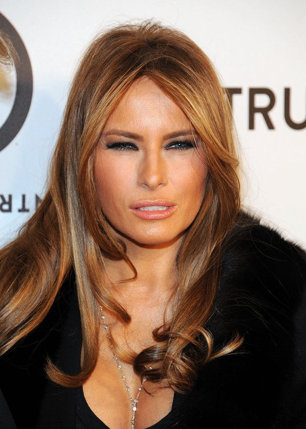 The One Thing About Melania Trump That Hasn T Changed In 17 Years Melania Trump Hair Color Melania Trump Model Trump Models