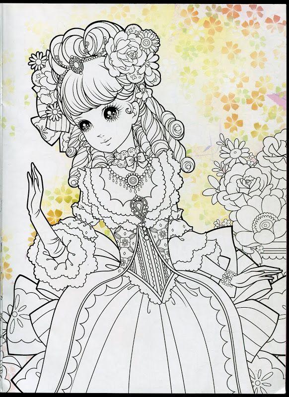 Princess Coloring Book 1 - Mama Mia - Picasa Web Albums   Colorear ...