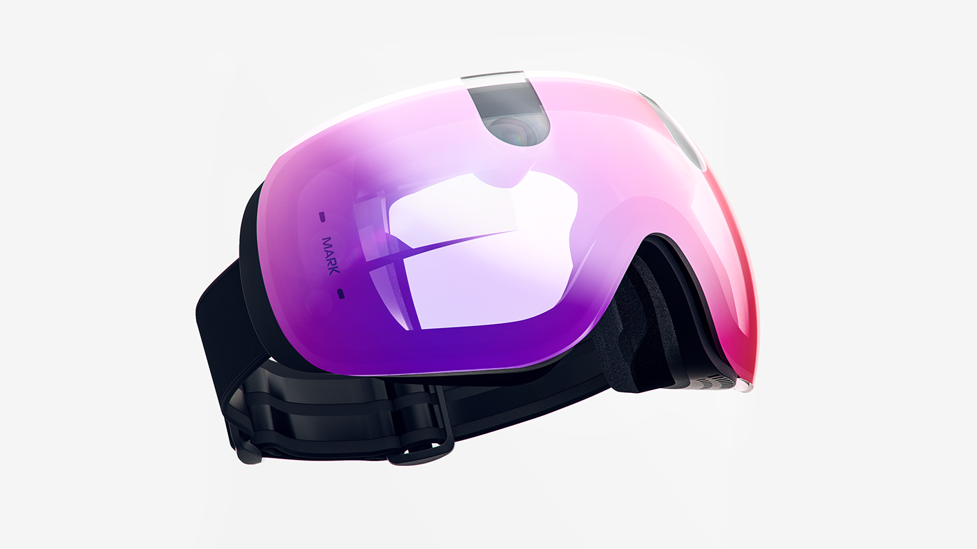 The MK1 snow goggles lets riders capture and organize