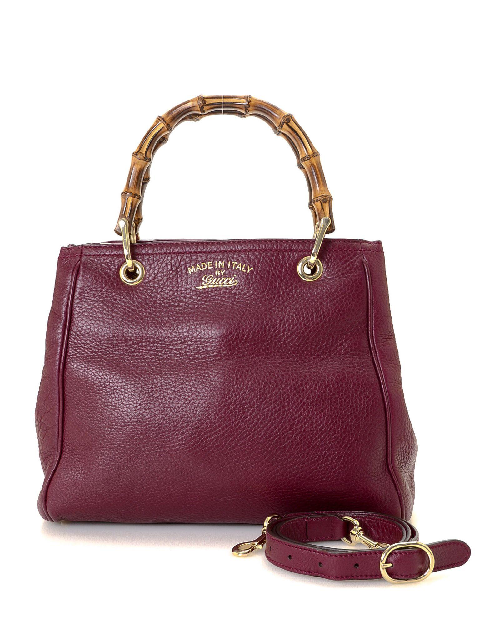 4d93f0076 Gucci Bamboo Two-Way Handbag | *Century 21 Stores* | Gucci bamboo ...