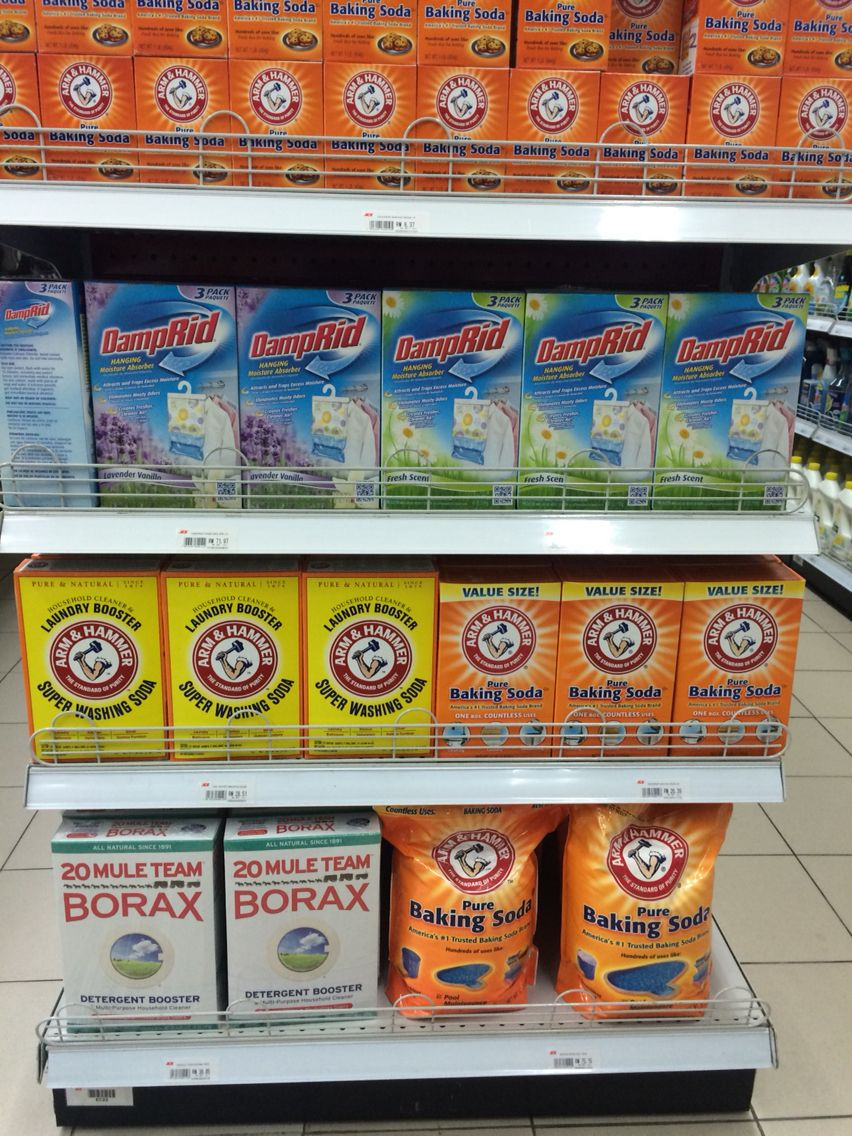 Borax And Arm Hammer Baking Soda Available In Ace Hardware This Foto