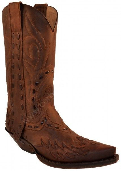 3590 Cuervo Mad Dog 7004-Mad Dog Tang | Sendra mens combined brown leathers cowboy boots 246€