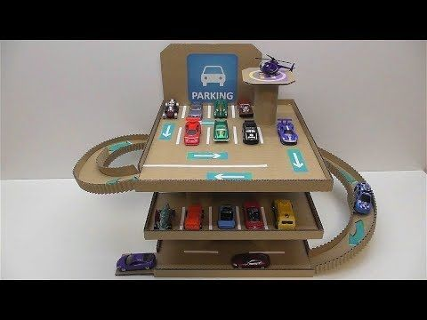 Diy To Make Cars Out Parking How Of For Cardboard O0ynw8vNm