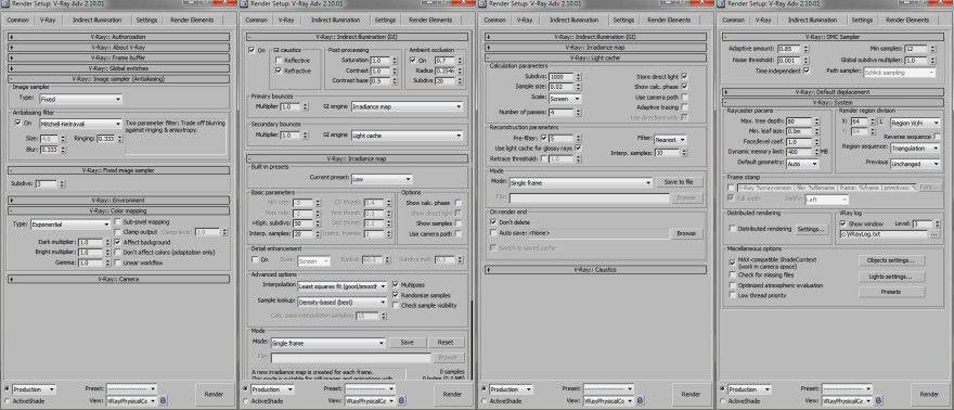 Vray exterior lighting render setup 3d max in 2019 - 3ds max vray exterior lighting tutorials pdf ...