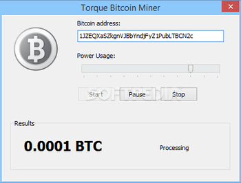 Torque Bitcoin Miner Download Free with Screenshots and
