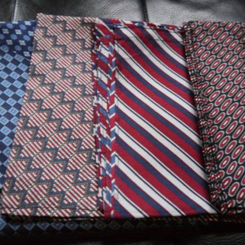5a5dedff0ad8 Long cheche foulard 100 % soie - homme - bleu marine rouge et blanc ...