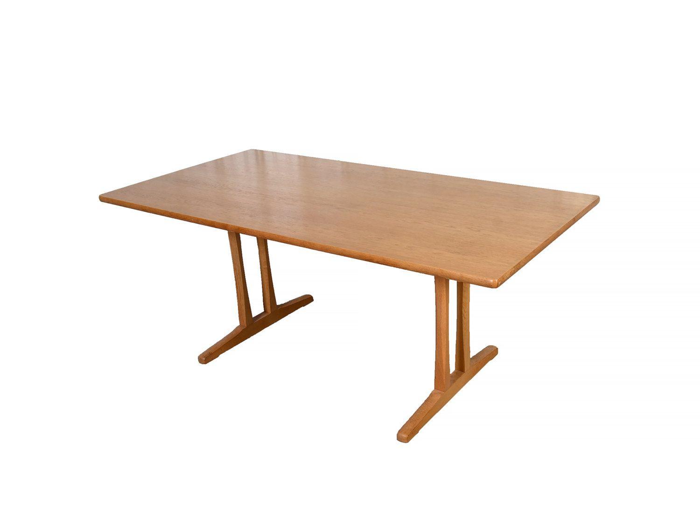 Borge Mogensen Shaker Trestle Table Danish Modern | Trestle tables ...