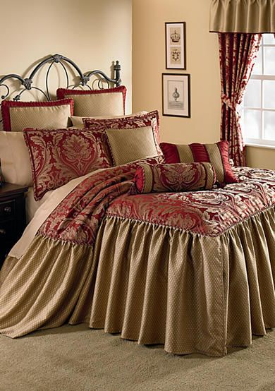 Home Accents Regency 8 Piece Luxury Bedspread Ensemble Bedding