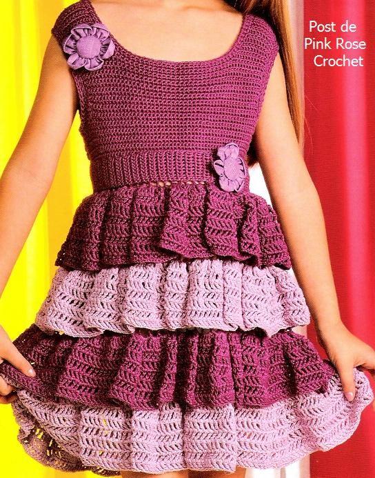 Resimli Anlatimla Kiz Cocugu Orgu Elbise Modelleri Harika Hobilerharika Hobi Sitesi Tig Isi Bebek Elbiseleri Tig Isi Elbiseler Bebek Elbise Modelleri