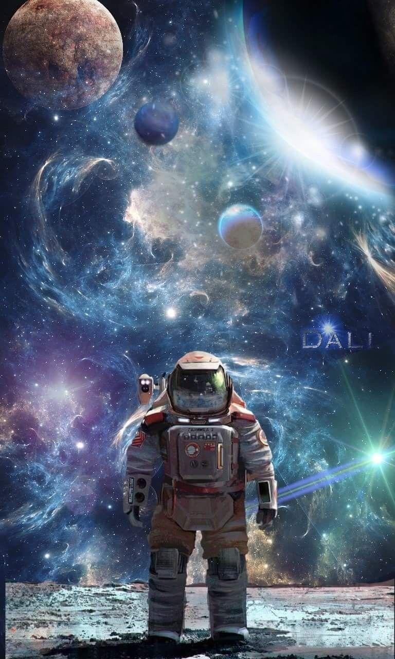 Фото космос постер