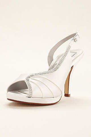 Scarpe Sposa Doriani.Wedding Shoes Bridal Shoes David S Bridal Dyeable Wedding