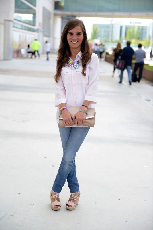 #Camisa #STREET STYLE MADRID #PRIMAVERA VERANO 2015