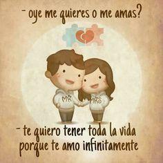 Quiero envejecer contigo Amor Amor t Spanish quotes