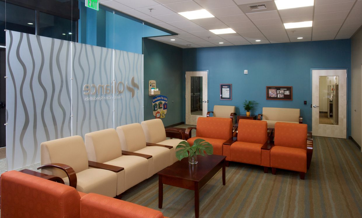 Medical Office Frosted Glass Decal Creating More Privacy
