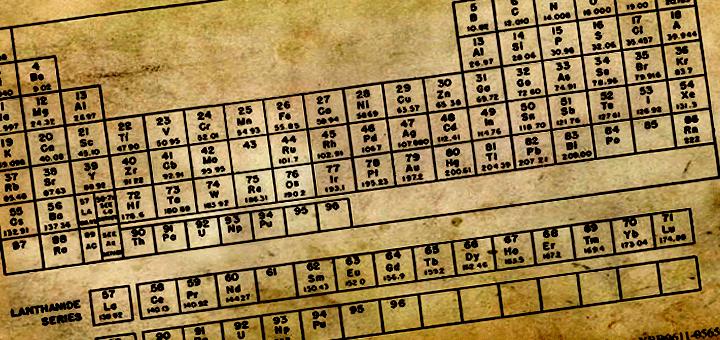 تاريخ الجدول الدوري الجزء الأول الكيمياء العربي Chemistry Periodic Table