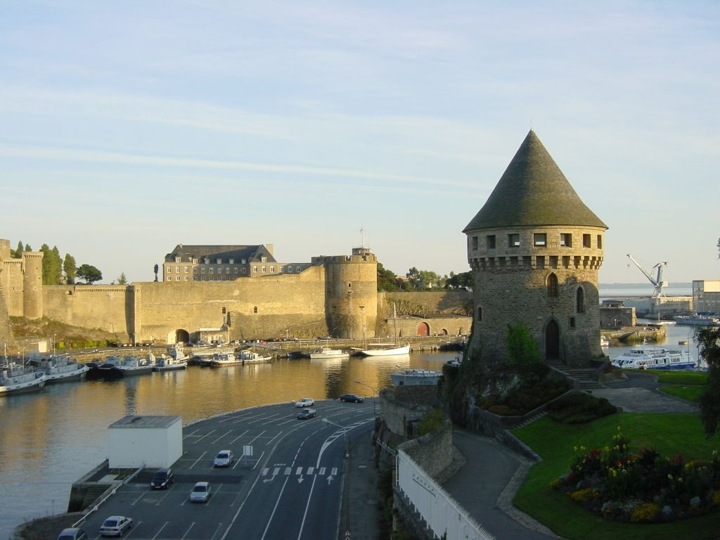 Castle and Fortress pictures |Brest Bretagne
