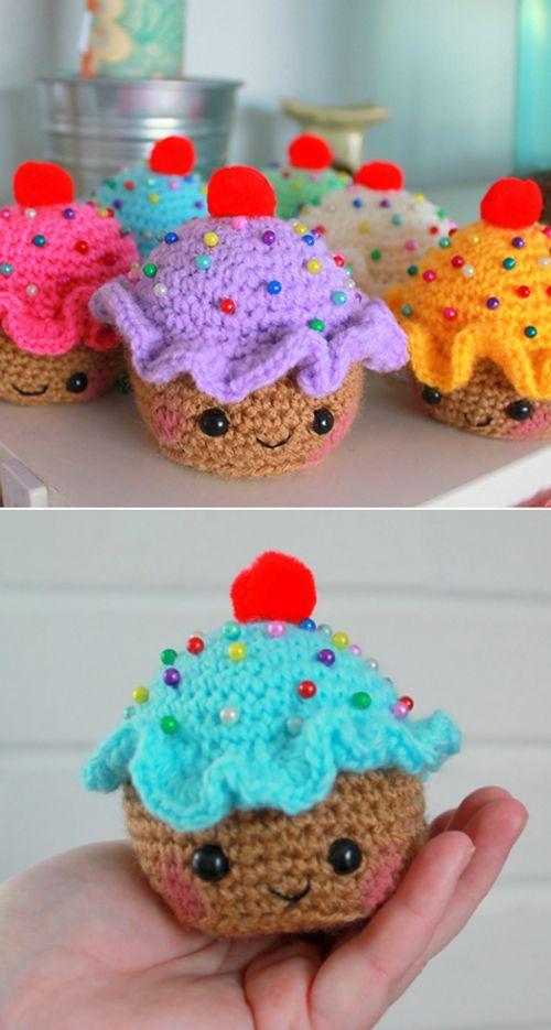 Cupcake Pincushion - Free Pattern (Beautiful Skills ...