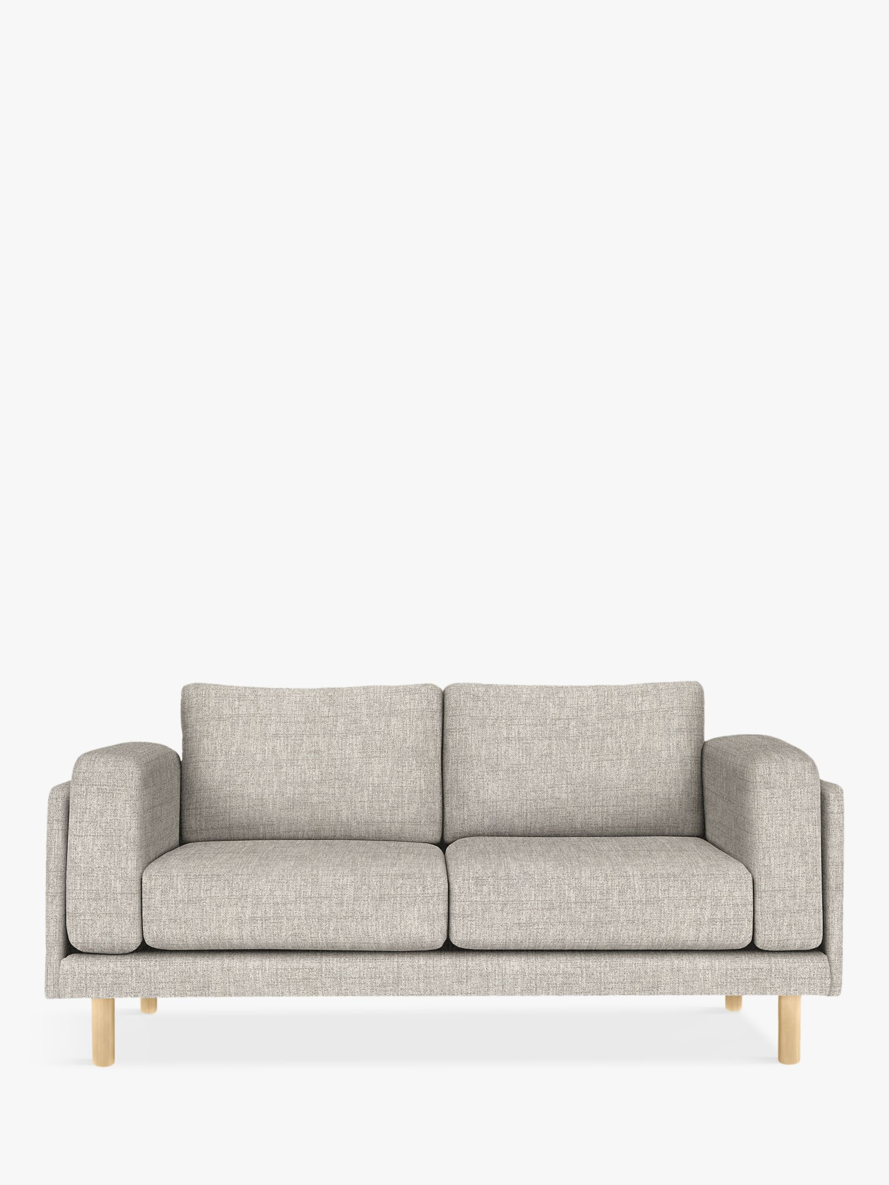Design Project By John Lewis No 002 Medium 2 Seater Sofa Arya Blue Grey 2 Seater Sofa Design Projects Blue Grey