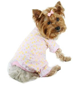 Dog Pajama Yorkie Pajamas Chihuahua Pajamas Small Dog Pj Doggie