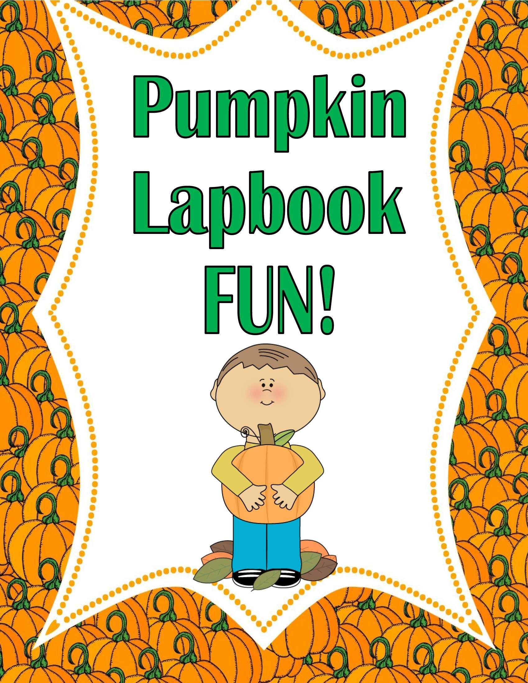 Publishers Tech Girl Pumpkin Lapbook Activity Fun