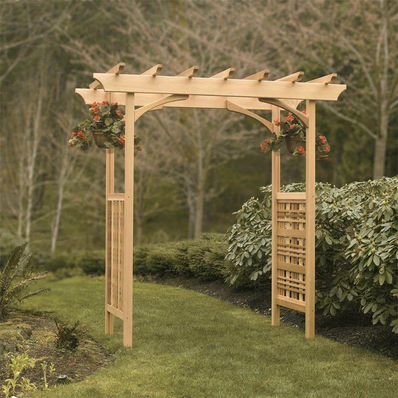 Heritage Garden Arbor Garden Arches Wooden Garden
