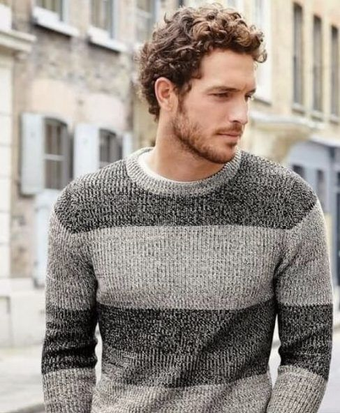 Curly Hairstyles Men Mens Hairstyles Curly Romantic Short