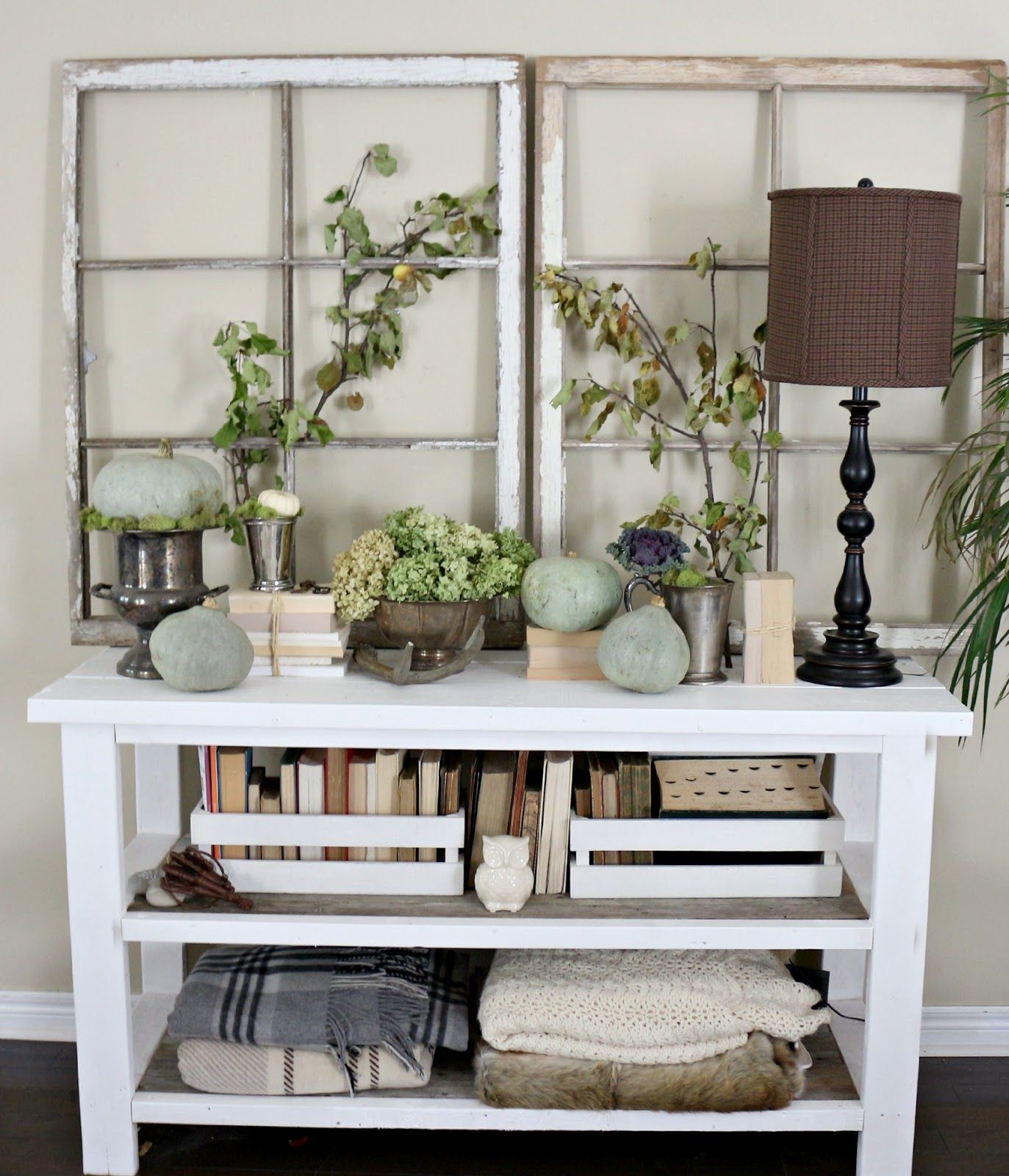 Ideas for old window frames  craftberry bush a festival of fall fall styling  campestre
