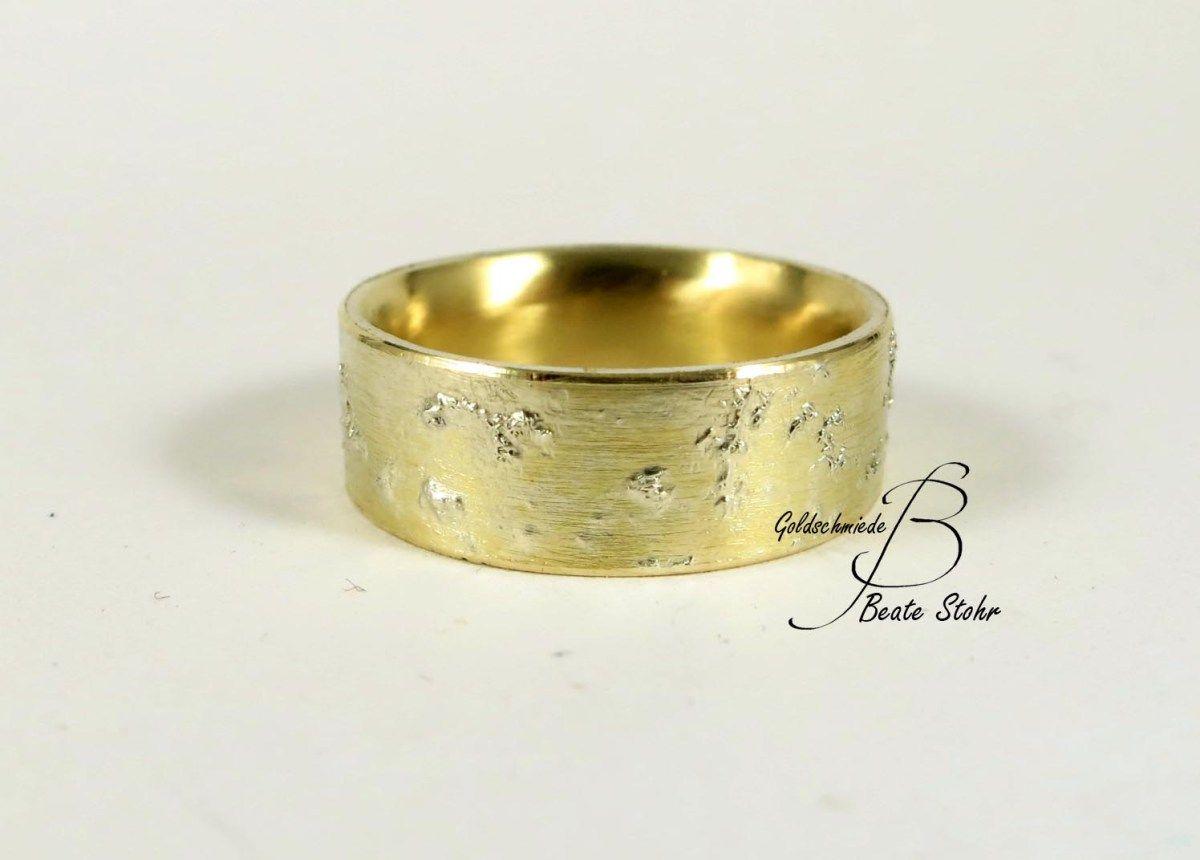Ring Sternenstaub Gelbgold | Trauring, Eheringe und Ringe
