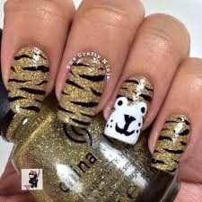 Unas Uñas De Tigre Uña Pinterest Nails Nail Art Y Nail Designs