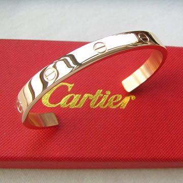 Cartier pink gold bracelet $86.15