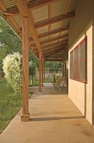 Pole Barn Porch Porch Metal Barn House Plans Pole