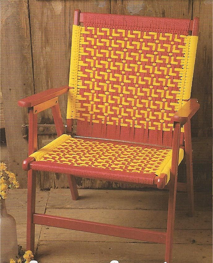 Macrame Chairs Tools Amp Guides Macrame Chairs Lawn