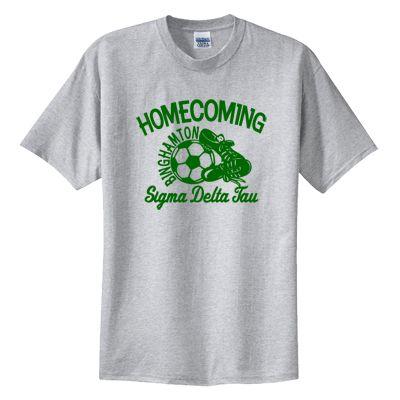 473324b3e Greek Soccer Homecoming Printed T-Shirts  Fraternity  Clothing  Greek