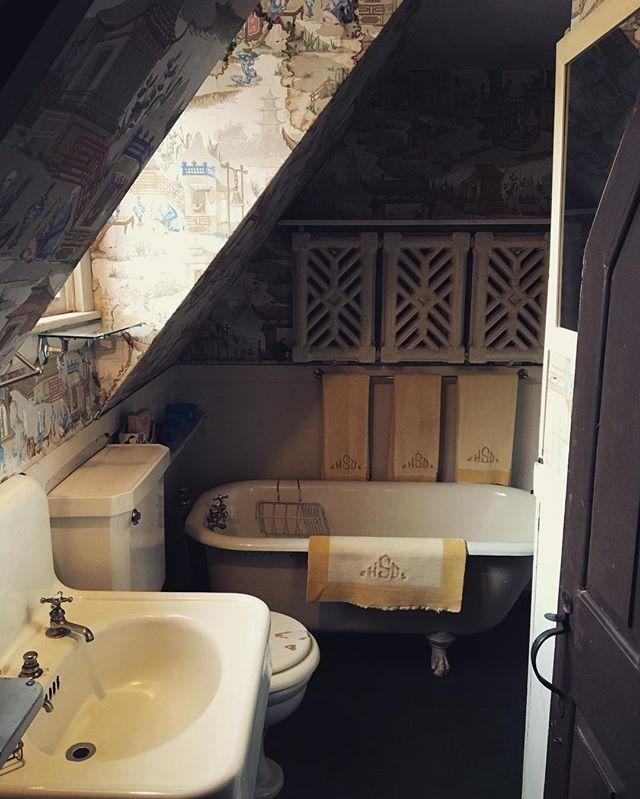 Is it strange I love old bathrooms?  Sleeper-McCann House, Gloucester, MA.