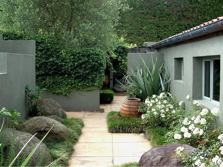 landscape ideas nz Google Search Courtyard gardens