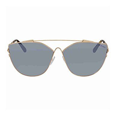 584140972a Sunglasses Tom Ford FT 0563 Jacquelyn- 02 28C shiny rose gold   smoke  mirror Review