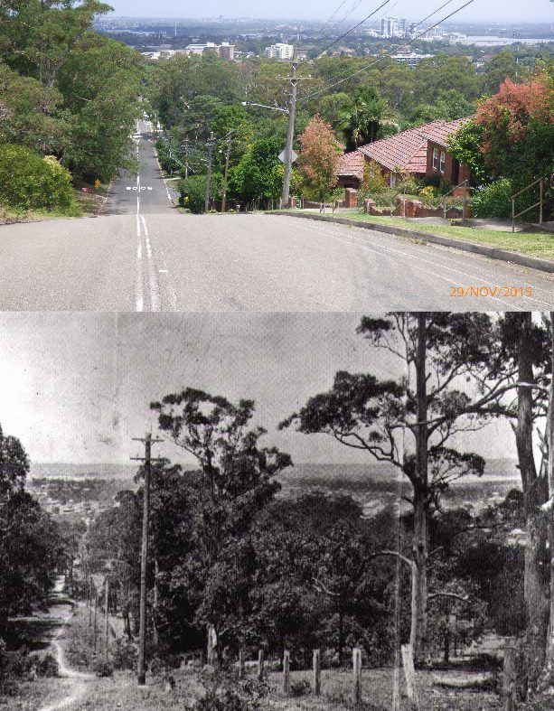 Terry Hulme ..Ryde 1923 / 2015  Sydney then and now