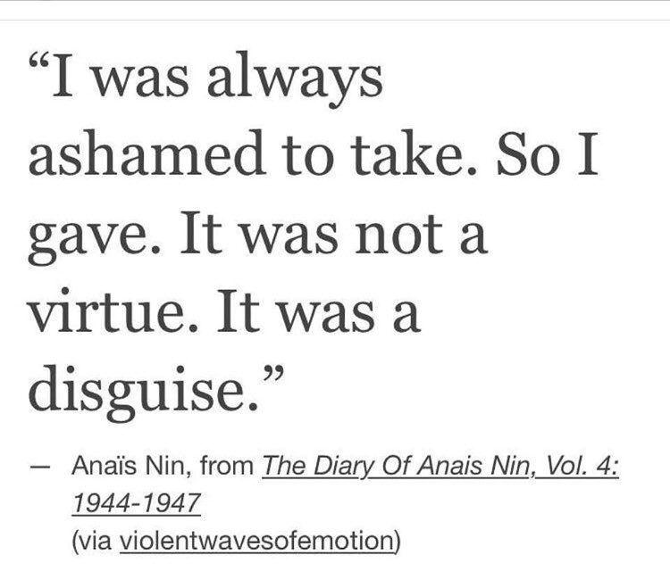 Anais Nin Endthepatriarchy Cool Words Anais Anais Nin