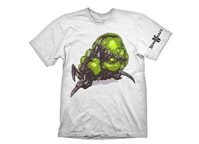 deccd7133e690d T-Shirt Gaya Starcraft 2 Baneling Λευκό - XL - http   tech.bybrand ...