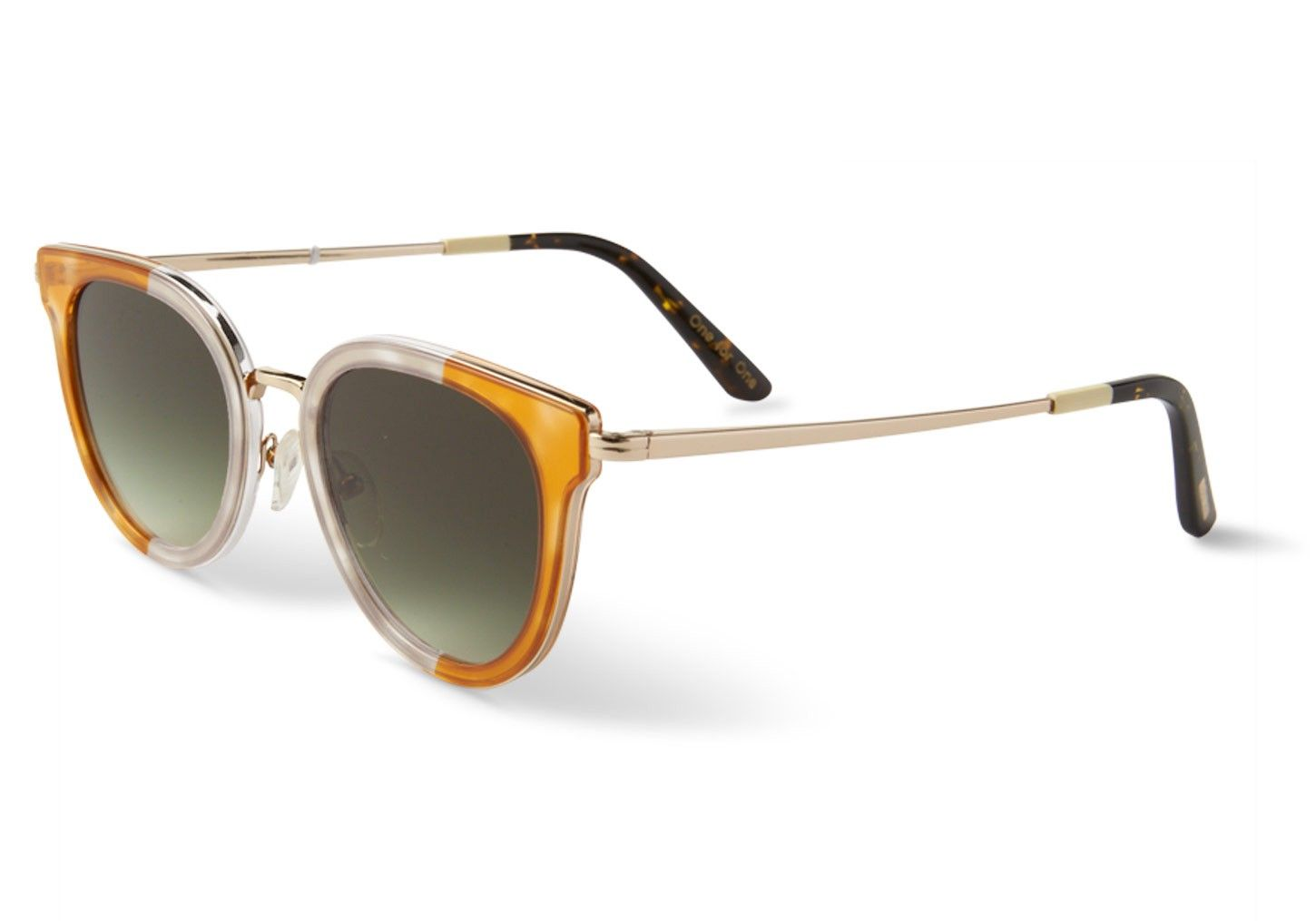 3f7d9751cf TOMS Toms Rey Honey Tortoise Lamination Sunglasses With Olive Gradient Lens.   toms  all